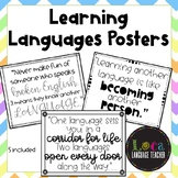 Learning Languages Posters