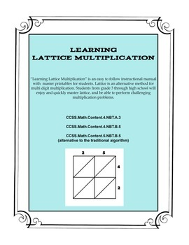 Learning Lattice Multiplication