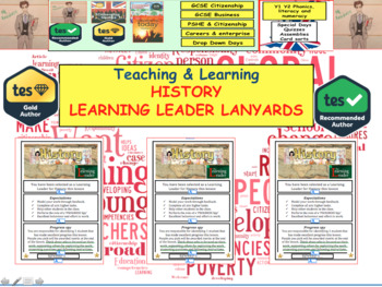 Learning Leader Lanyards -