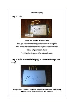 Learning Letter Formation