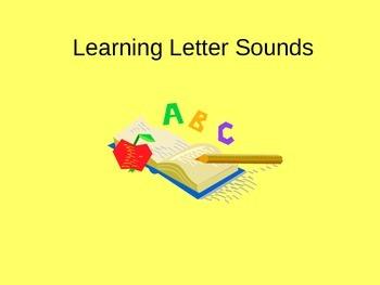 Learning Letter Sounds