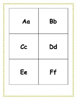 Learning Letter Sounds-A take-home packet