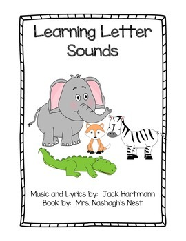 Learning Letter Sounds Book