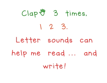 Learning Letter Sounds book - Jack Hartmann