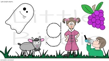 Learning Letter of the Week: Gg is for  Goat Activities