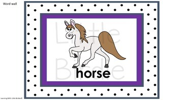 Learning Letter of the Week: H h is for Horse Activities