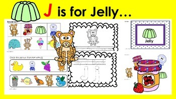 Learning Letter of the Week: J is for Jelly Activities