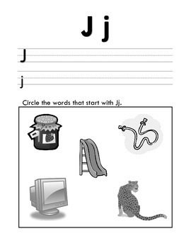 Learning Letters A-Z & Introducing Letter Sounds