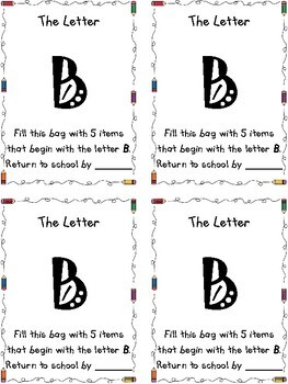 Learning Letters Alphabet Bags