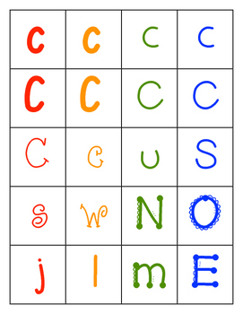 Learning the Alphabet: Letter Names, Letter Recognition, Sorting