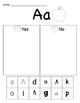 Alphabet Sorts Letter Names and Sounds Letter Puzzles Bundle