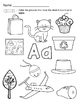 Alphabet Activities Letter Names and Puzzles ABCs