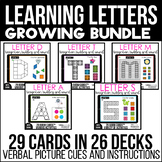 Learning Letters Boom Cards™ Bundle-Letter Building, Discr