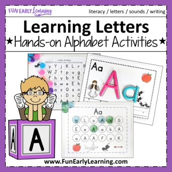 Learning Letters Hands-on Alphabet Activities