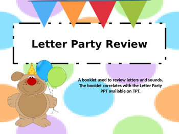 Learning Letters Poster Book