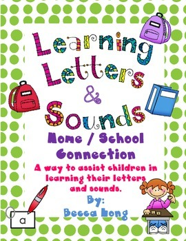 Learning Letters & Sounds    Home - School Connection