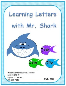 Learning Letters with Mr. Shark