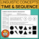 Learning Linguistic Concepts: Time & Sequence