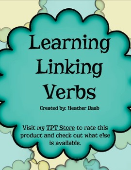 Learning Linking Verbs