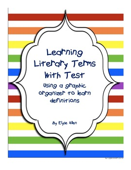 Literary Terms and Test