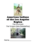 Learning Log for ELD Unit on S. California Native Americans