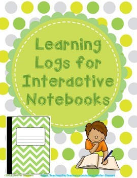 Learning Logs for Interactive Notebooks
