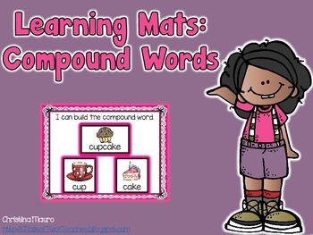 Compound Word Learning Mats