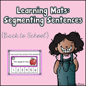 Segmenting Sentences {Back to School} Learning Mats