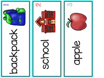 Syllables {Back to School Edition} Learning Mats