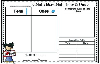 Learning Mats- Tens and Ones