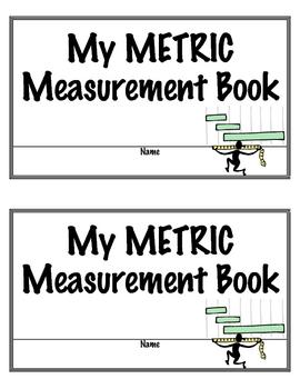 Learning Metric Measurement Student Book Printable