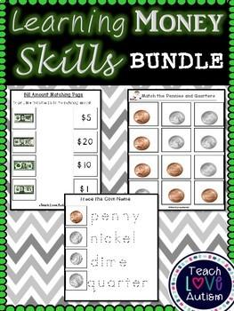 Learning Money Skills BUNDLE   **Growing Bundle!