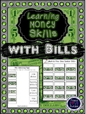 Learning Money Skills with Bills Pack