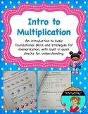 Introduction to Multiplication + Google Slides Version