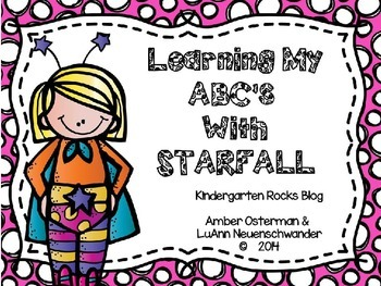 Learning My ABCs With Starfall ~ Letter Recognition