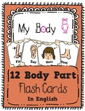 Learning My Body Parts - Special Education