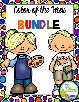 Learning My Colors {Bundle}