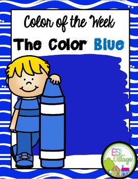 Learning My Colors {blue}