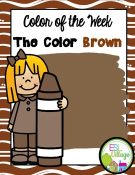 Learning My Colors {brown}