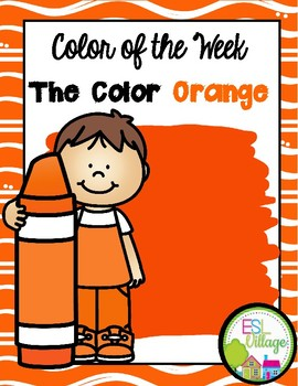 Learning My Colors {orange}