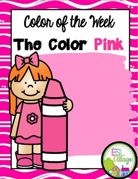 Learning My Colors {pink}