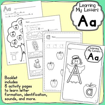 Alphabet Activities:  Learning My Letters [Aa]