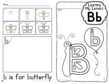 Alphabet Activities:  Learning My Letters [Bb]