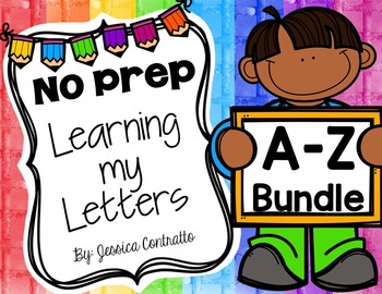 Learning My Letters Bundle!