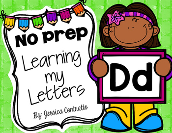 Learning My Letters D
