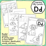 Alphabet Activities: Learning My Letters [Dd]