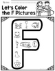 Learning My Letters F