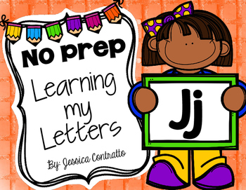 Learning My Letters J