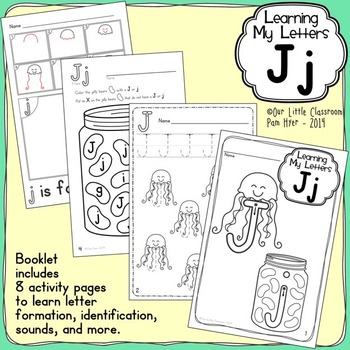 Alphabet Activities: Learning My Letters [Jj]