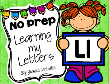 Learning My Letters L